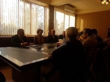 Արարատի մարզպետ Արամայիս Գրիգորյանը հանդիպել է ԱՄՆ Խաղաղության կորպուսի հայաստանյան գրասենյակի ներկայացուցիչների հետ