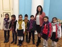 Արարատի մարզի սահմանամերձ համայնքների երեխաները մասնակցել են ՀՀ նախագահի նստավայրում Ամանորի և Սուրբ Ծննդյան տոների առթիվ կազմակերպված տոնական միջոցառումներին