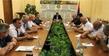 ՀՀ գյուղատնտեսության նախարարը հանդիպել է մարզպետարանների գյուղոլորտի պատասխանատուների հետ