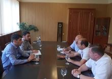 Հանդիպում << Վեոլիա ջուր>> ընկերության ներկայացուցիչների հետ