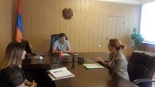 Գարիկ Սարգսյանն ընդունել է Մանկական զարգացման հիմնադրամի ներկայացուցիչներին