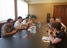 Արարատի մարզպետ Գարիկ Սարգսյանը հանդիպել է Հայաստանի զբոսաշրջության զարգացման հիմնադրամի ներկայացուցիչների հետ
