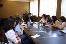 Կայացել է Արարատի մարզպետ Գարիկ Սարգսյանի պաշտոնավարման 100 օրվան  նվիրված մամուլի ասուլիսը