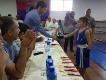 Մասիսում կայացել է  ապրիլյան պատերազմում զոհված զինծառայող  Ժորա Եսայանին նվիրված հուշամրցաշար