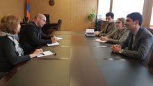 Հանդիպում ԵԱՀԿ/ԺՀՄԻԳ դիտորդական առաքելության անդամների հետ