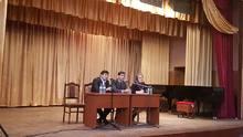 Հանդիպում Արցախյան ազատամարտում զոհված մասիսցի ազատամարտիկների հարազատների հետ