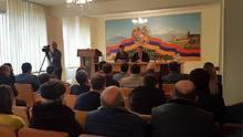 ՀՀ Ոստիկանապետը հանդիպել է Արարատի մարզում առաջադրված թեկնածուների և նախընտրական շտաբների ղեկավարների հետ