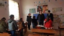 Գարիկ Սարգսյանն այցելել է  դպրոցներ