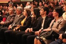 Գարիկ Սարգսյանը տիկնոջ հետ մասնակցել է կանանց մեկամսյակին նվիրված միջոցառմանը