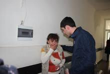 Գարիկ Սարգսյանն այցելել է այրվածքներ ստացած երեխային, ծանոթացել նրանց հատկացված կացարանի պայմաններին