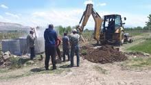 Տափերական համայնքում իրականացվում են խմելու ջրագծի անցկացման աշխատանքներ