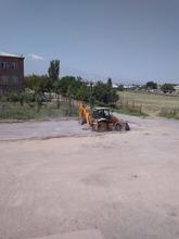 Շահումյանում մեկնարկել են փողոցի և հարակից տարածքների ասֆալտապատման աշխատանքները