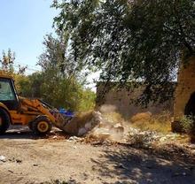 Արտաշատում մաքրել են չնախատեսված վայրերում թափված շինարարական աղբը