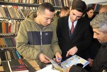 Կառավարության անդամները գրքեր են նվիրել Արմաշի գրադարանին