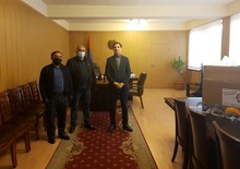 «Արմաթ» տեխնոհամայնքը Արարատի մարզի ԲԿ-ներին պաշտպանիչ դիմավահաններ է նվիրել