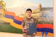 ՀՀ Անկախության 30-ամյակի առիթով պարգևատրվել են մի շարք զինծառայողներ
