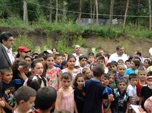 Մարզպետի այցն ամառային ճամբար