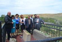 Ուխտագնացություն Քրիստինա-Հայաստանի շիրիմին