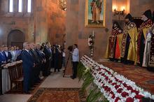 ՀՀ նախագահ Սերժ Սարգսյանը ներկա է գտնվել  Արտաշատի նորակառույց եկեղեցու բացման արարողությանը